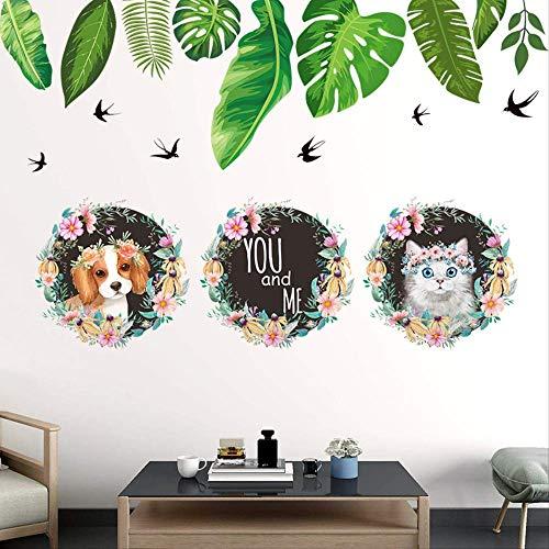 Blad fotolijst muur plakken woonkamer bank slaapkamer achtergrond muur decoratieve Stickerself