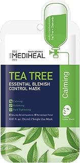 MEDIHEAL Official [Korea's No 1 Sheet Mask] - Tea Tree Essential Blemish Control Mask (10 Masks)