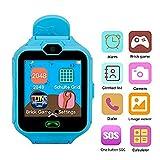 Hangang Teléfono Inteligente Niña Smartwatch Cámara Juegos Pantalla Táctil Cool Juguetes...