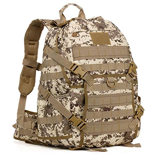 Charm4you Travel Laptop Backpack With,Outdoor sports leisure camouflage backpack-Camouflage D,Camping Walking Backpack