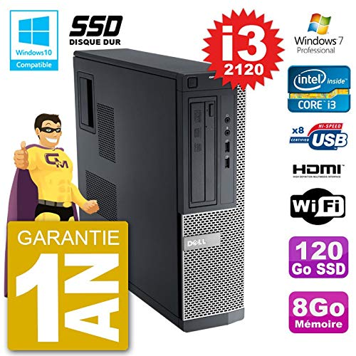 Dell PC 390 DT Intel i3 – 2120 RAM 8 GB SSD 120 GB, grabadora DVD ...