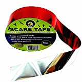 Ugold Bird Repellent Scare Tape Bird Repellent Ribbon - 1'' x 500 Ft (Red)