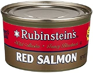 Rubinsteins Red Salmon, 7.5-Ounce (Pack of 6)