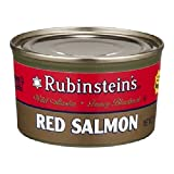 Rubinsteins Salmon Red Sockeye, 7.5000-Ounce (Pack of 6)