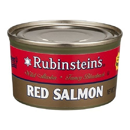 Rubinsteins Salmon Red Sockeye, 7.5000-Ounce (Pack of 6)