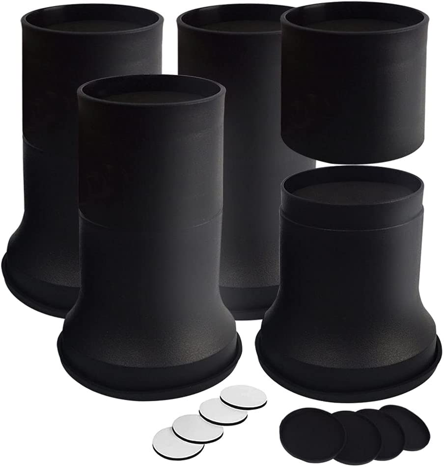 FONDDI 2 4 or 6 Inch Stackable Heavy Fu Max 68% OFF Bed - Round Risers Duty Max 73% OFF