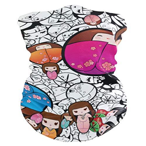 Outdoor Magic Stirnband Japanische Puppen Schal UV-Widerstand Sport Kopfbedeckung Serie Für Yoga Wandern Reiten Motorradfahren