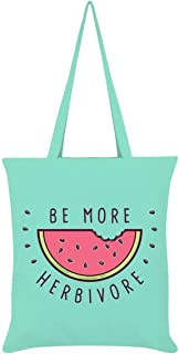 Grindstore Be More Herbivore Tote Bag
