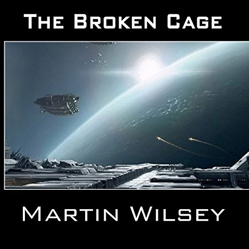 The Broken Cage audiobook cover art
