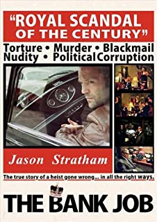 The Bank Job Poster B 27x40 Jason Statham Saffron Burrows Daniel Mays