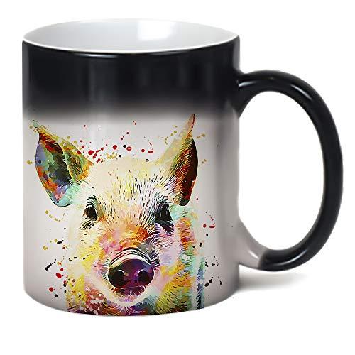 15-Ounce 3dRose Farm Animals Goat Ceramic Mug