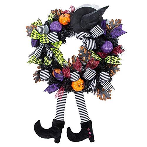 yotijar Decoración Decorativa De La Fiesta Temática De La Guirnalda del Esqueleto De Halloween Decoración Interior De La - Tipo 3, Individual