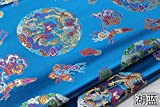 Meterware als Dekostoff- Cheongsam Tang Anzug Drachen Robe