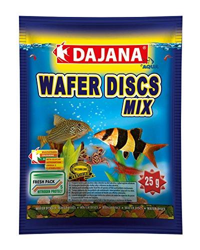 Dajana Wafer Discos Mezcla Acuario Peces Alimentos 20g