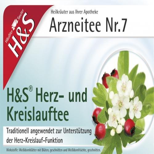 H&S HERZ KREISLAUF TEE 20St Filterbeutel PZN:2070559