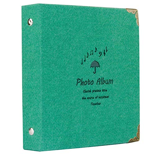 Sale!! Blummy Scrapbook Photo Album for Mini 11 9 8 8+,DIY Photo Album Set with 20 Black Pages, Grea...