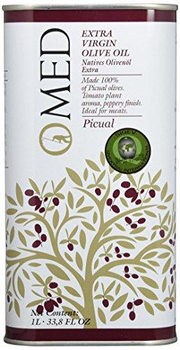 O-MED Natives Olivenöl Picual Kanister, 1er Pack (1 x 1000 ml)
