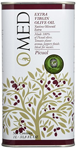 O-MED Natives Olivenöl Picual Kanister, 1er Pack (1 x 1000 ml)
