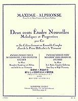 アルフォンス : 旋律的・斬進的な新しい200のホルン練習曲 第二巻 (ホルン教則本) ルデュック出版