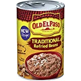 Old El Paso Traditional Refried Beans, 12 Cans, 16 oz...