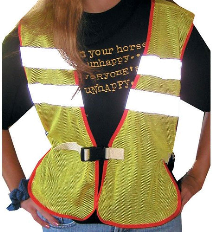 Intrepid International Safety Reflective Riding Vest