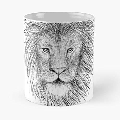 The Narnia Witch Chronicles Fantasy Aslan Winter Löwe, Spring and Wardrobe – Die besten weißen Kaffeetassen mit 38 ml Fassungsvermögen aus Keramik.