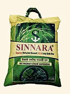 SINNARA PARBOILED EXTRA LONG GRAIN BASMATI RICE (20lbs)