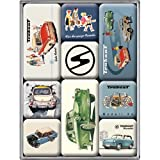 Nostalgic-Art 83008 Trabant - Trabant, Magnet-Set (9teilig)