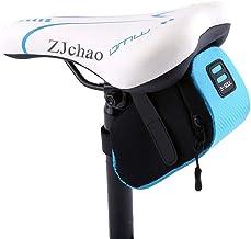 zjchao Bolso para Sillín Alforjas tija sillín de Ciclismo Impermeable para Bicicletas de Montaña y de Carretera Asiento Paquete