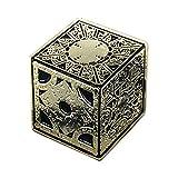 Hellraiser Puzzle Box Horror Enamel Pin | The Lament Configuration | Pinhead | Horror Movie | Lapel Pin | Denim Jacket Gift