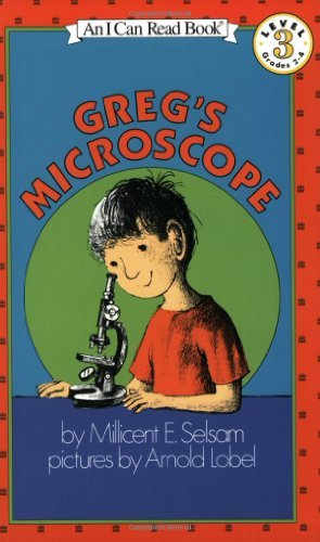 Greg's Microscope (I Can Read Book 3) by Selsam, Millicent E. (1990) Paperback