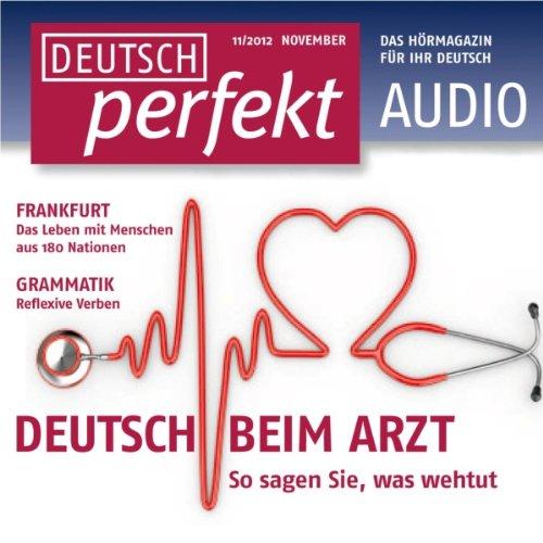 Deutsch perfekt Audio. 11/2012 Titelbild