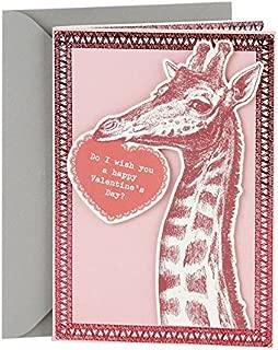 Hallmark Shoebox Funny Valentine's Day Card (Giraffe Joke)
