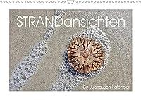 Strandansichten (Wandkalender 2022 DIN A3 quer): Im Juistrausch - ganz nah dran am Juister Strand. (Monatskalender, 14 Seiten )