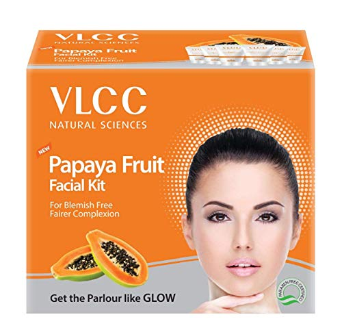 VLCC Papaya Fruit Facial Kit 60 g (Set of 6)