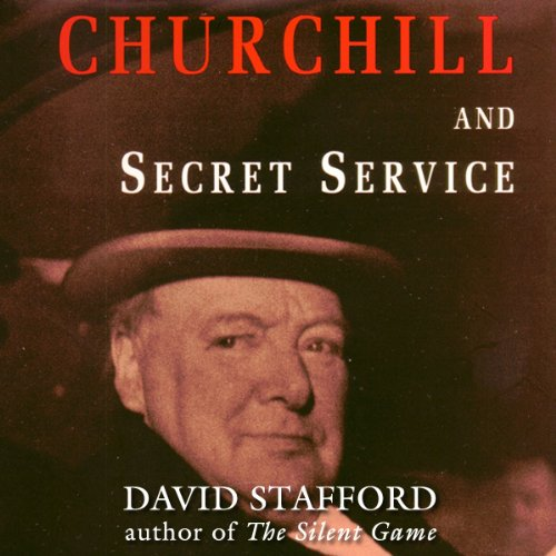 Churchill and Secret Service audiobook cover art