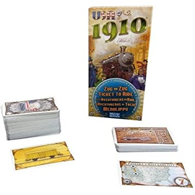 Days of Wonder Ticket To Ride: 1910 Expansion
