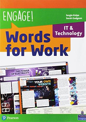 Engage! Compact. Words for work. IT & technology. Per gli Ist. tecnici e professionali. Con espansione online [Lingua inglese]