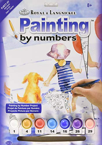 Royal & Langnickel - PJS77 - Spring Bunnies Design Paint by Numbers Kit