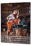 Wandkalender 2019 Jahreskalender Dauerkalender 2020 Kalender 2021 Terminplaner Fotokalender Sexy Girl Werkstatt Metall Magnet