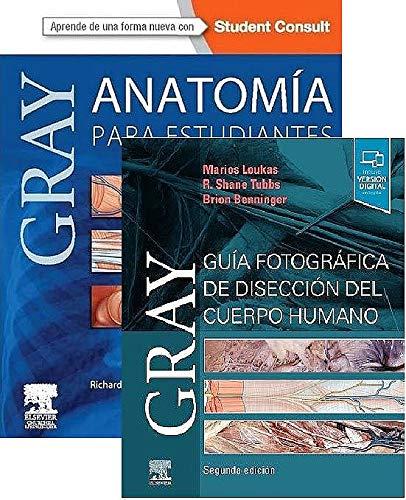 LOTES DRAKE - LOUKAS (fotográfica). Gray, Anatomía para estudiantes + GRAY. Guía fotográfica de disección del cuerpo humano