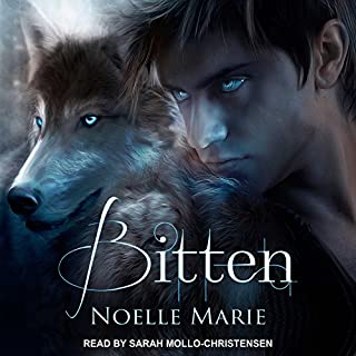 Bitten audiobook cover art