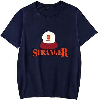 Pandolah メンズ 青少年 Tシャツ 半袖 Stranger Things ストレンジャー・シングス 未知の世界 海外ドラマ 人気 大きくサイズあり