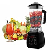 Professional Blender Touch Screen Soup Smoothie Shake Juicer Blender 5 Core  Rating  Only Certified Model On Amazon  Choose Your Size  IS090001 (2L Touch Screen 6 Blade)