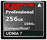 Komputerbay Professional - Memoria Compact Flash de 256 GB, Negro