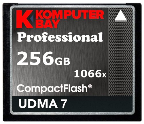 Komputerbay 256GB Professional Compact Flash Karte 1066X CF schrieben 155MB/s lesen 160MB/s Extreme Speed UDMA 7 RAW