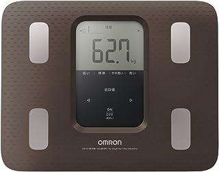 オムロン 体重・体組成計 カラダスキャン ブラウン HBF-220-BW