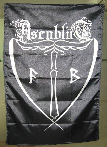 Asenblut - Logo Fahne/Posterflagge