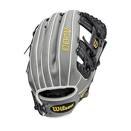 "Wilson A500 Baseball 11"""" - Left Hand Throw,11"""", Yellow, WBW10014511, Large"