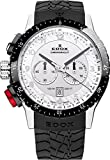 EDOX EDOX Rally Instruments CHRONORALLY 1 10305 3NR AN - Reloj Unisex, Correa de Goma Color Negro
